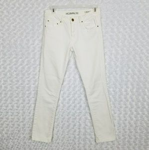 Zara Womens Size 2 Skinny Jeans Slim Fit White